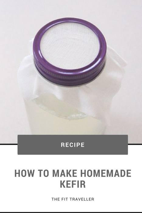 How to Make Kefir | Homemade Coconut Kefir | The Fit Traveller. Struggle with an unhappy tummy or looking for an alternative to probiotic supplements? Consider making some homemade kefir. Here's how to make kefir. ********** How to Make Kefir | Kefir | Coconut Water Kefir | Kefir Recipe | Homemade Kefir | Water Kefir | Gut Health |