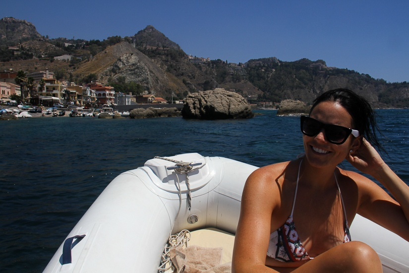 boat tours from taormina