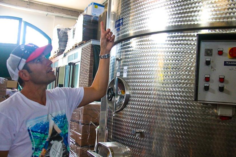 wine tasting Mount Etna