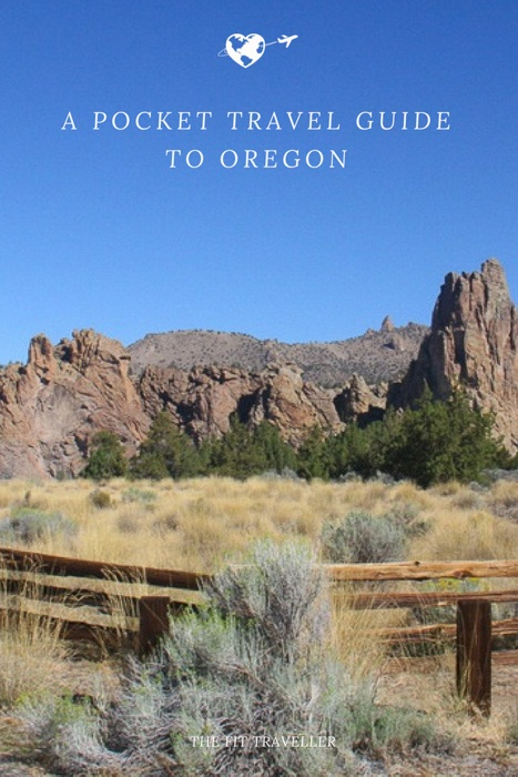 A Pocket Travel Guide to Oregon, USA | The Fit Traveller. Our pocket guide to Oregon includes things to do in Portland and around the state for those who love adventure activities, food and beautiful scenery. ********** What to do in Bend, Oregon | Things to do in Oregon | What to do in Portland | Things to do in Portland | Travel Guide to Oregon | Photography Oregon | Adventure Activities in Oregon | Oregon | Portland |