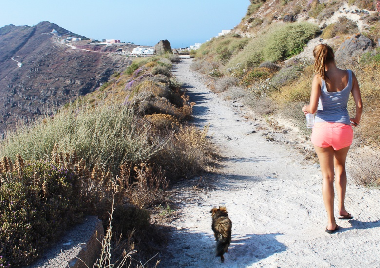 Oia to Fira Hike Greece