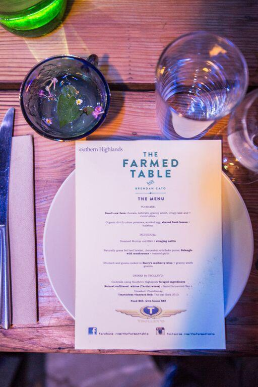 farmed table