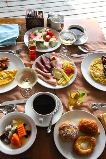 A very grand Centara Grand Resort & Spa breakfast