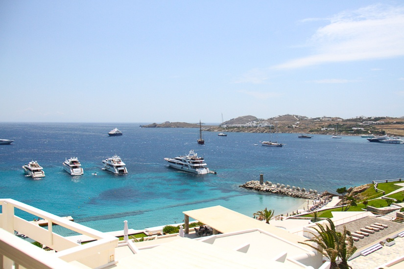 View of Ornos Bay