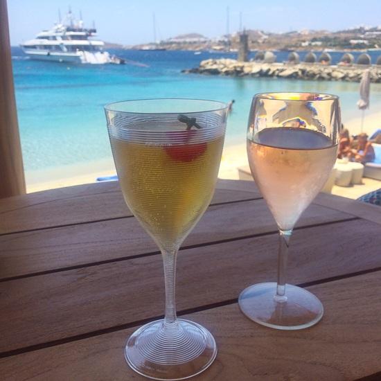 beach clubs Mykonos