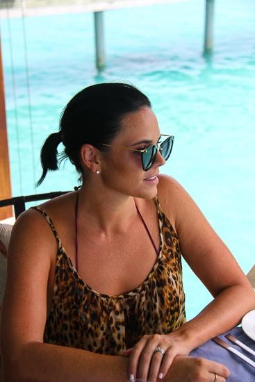 The perfect waterside lunch spot at Azzuri Mare, Centara Grand Island Resort & Spa, Maldives