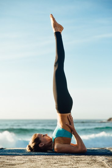 beginner yoga inversions