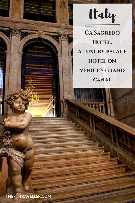 Ca'Sagredo Hotel, Italy - A Luxury Palace Hotel on the Grand Canal in Venice. It doesn't get more much romantic than this. Ca'Sagredo Hotel Venice offers 5 star luxury in a restored palace on the shores on the Grand Canal.