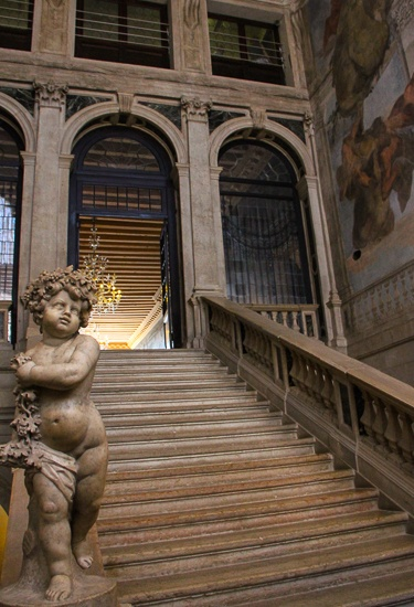 Luxury palace hotel Venice Italy