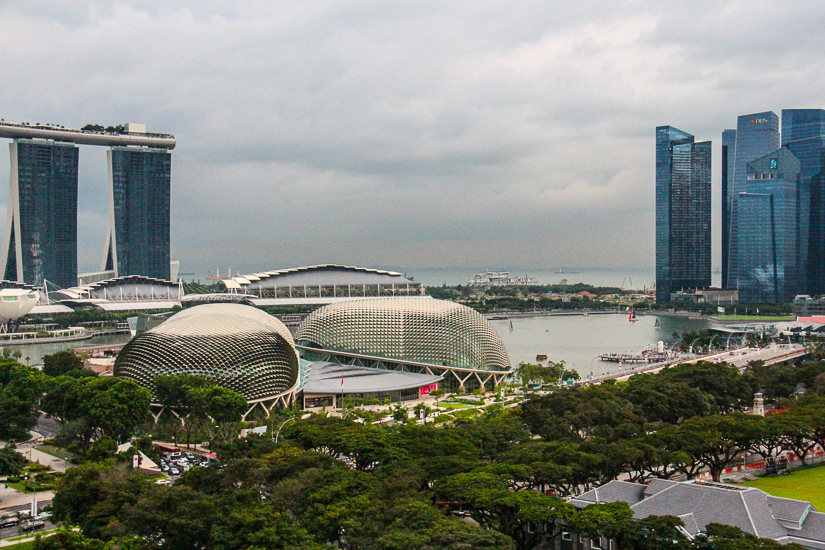 Luxury 5 star hotels in Singapore near Marina Bay