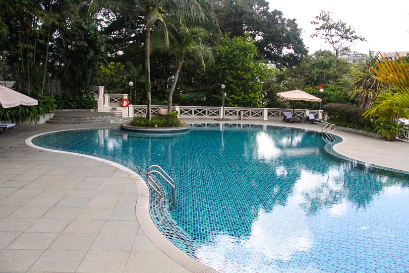Best hotel pools Singapore