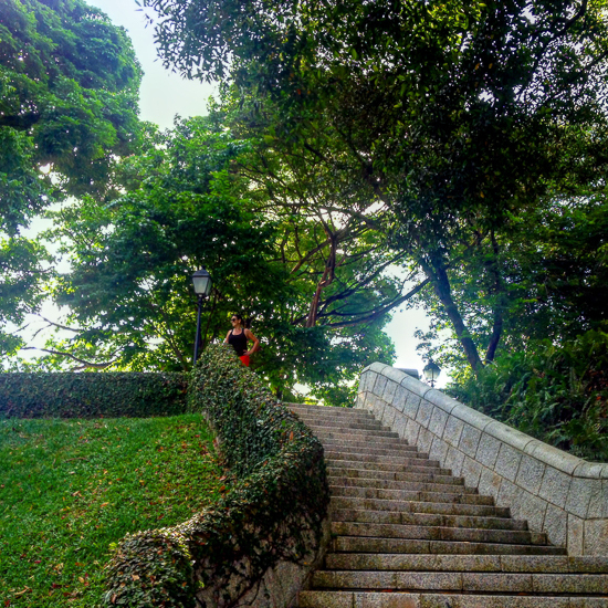 Fort Canning Park Singapore