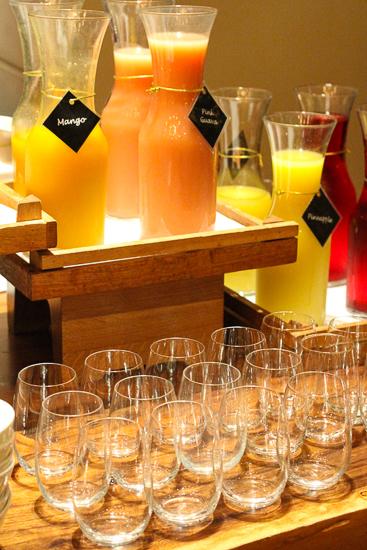 One-Ninety breakfast buffet at Four Seasons Singapore.