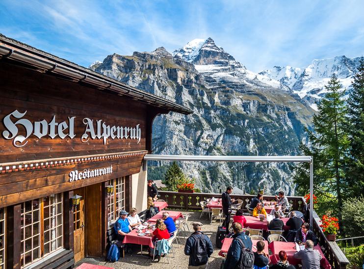 Mürren Switzerland Jungfrau region.