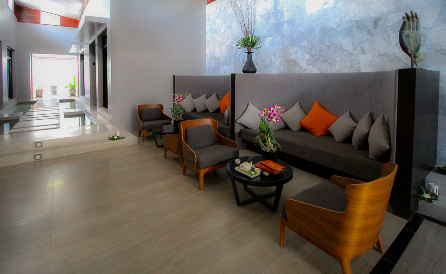 Ayurah Spa and Wellness Centre at Aleenta Phuket, Thailand.