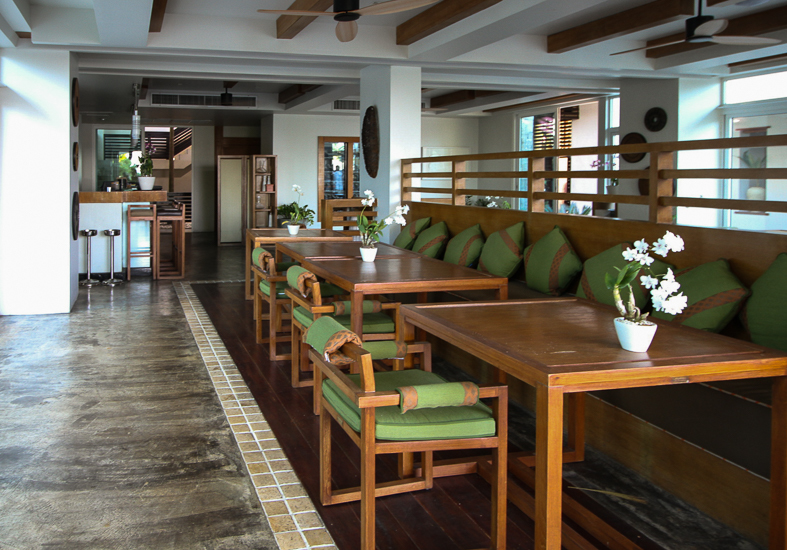 The Natai Restaurant at Aleenta Resort and Spa, Phuket, Thailand