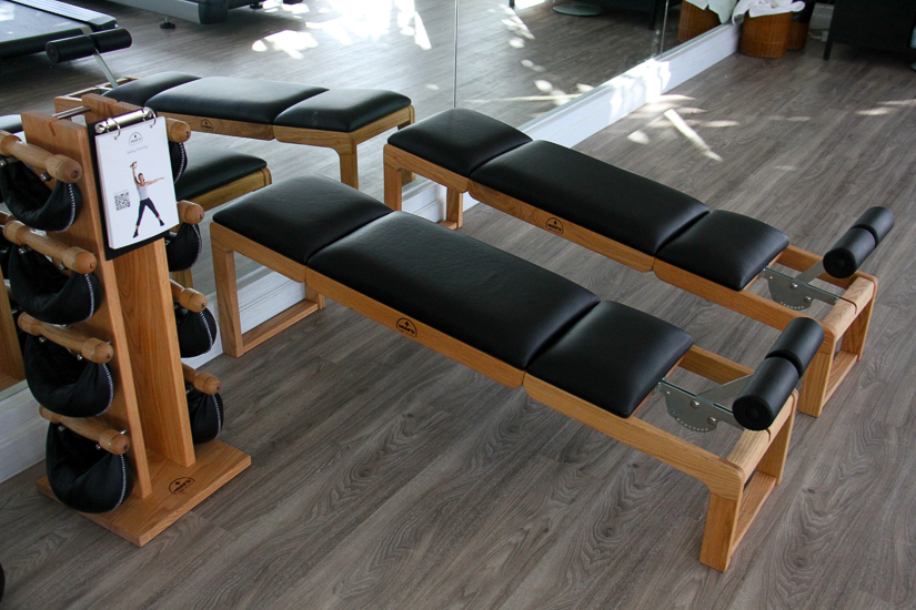 NOHrD benches and Swing Tower in The Nai Harn Phuket fitness centre