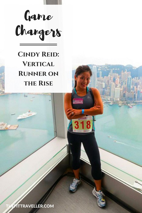 Game Changers - Cindy Reid: Vertical Runner on the Rise - Making Every Second Count. Cindy Reid makes every second count. From competing as a vertical runner to corporate banking to owning a gym. We asked her to how she does it all.