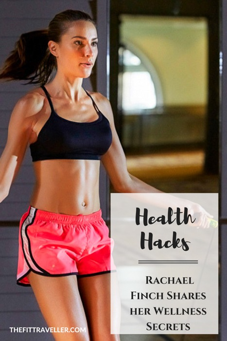 Rachael Finch Shares her Wellness Secrets - Model Talks Fitness, Recovery and Reward. A mother, model and presenter, Rachael Finch has a busy life but strives for balance. She shares her wellness secrets from fitness to recovery and reward.