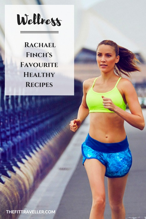Rachael Finch's Favourite Healthy Recipes. Former Miss Universe Australia, Rachael Finch is an advocate for healthy living. She shares 3 of her favourite healthy recipes for you to try at home.