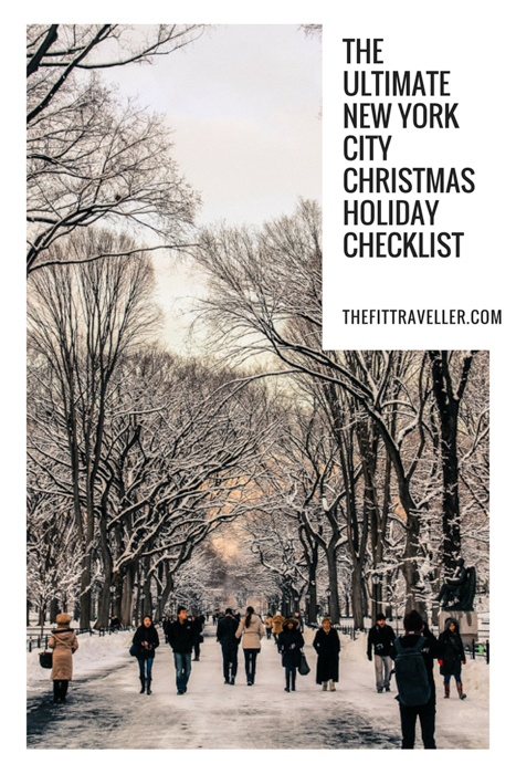 These are the top things to do in New York in December. When it comes to what to do in New York in December this is your must-do list of Christmas Activities in New York. #nyc #newyork @thefittraveller