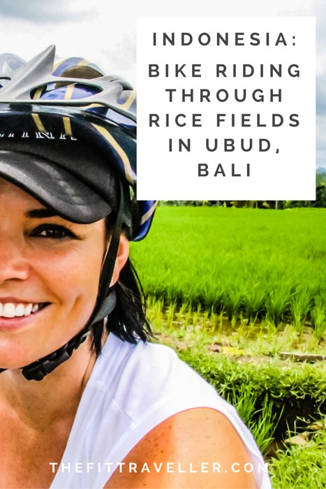 Bike Riding Tour Through the Rice Fields in Ubud, Bali. Bali bike tours are a unique way of exploring the island. We went on a downhill bike tour in Ubud. This tour suits beginners to expert riders. ********** Bali Bike Tours | Rice Fields Ubud | Active Travel Bali | Adventure Travel Bali | Cycling Ubud | Bali Bike Rental | Ubud Day Trip | Ubud Tour | What to do in Ubud | Things to do in Ubud | What to see in Ubud | Family Travel Ubud |
