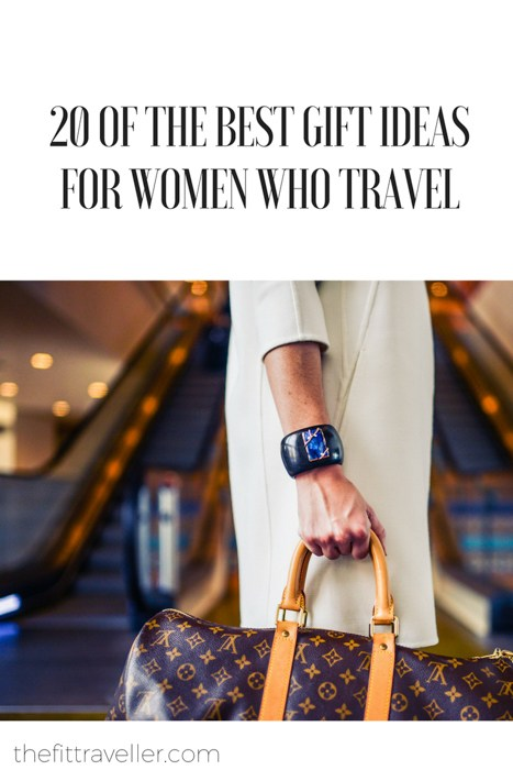 The ultimate gift guide for women who travel. The best travel gifts that are a balance between pretty and practical with something suitable for every budget.