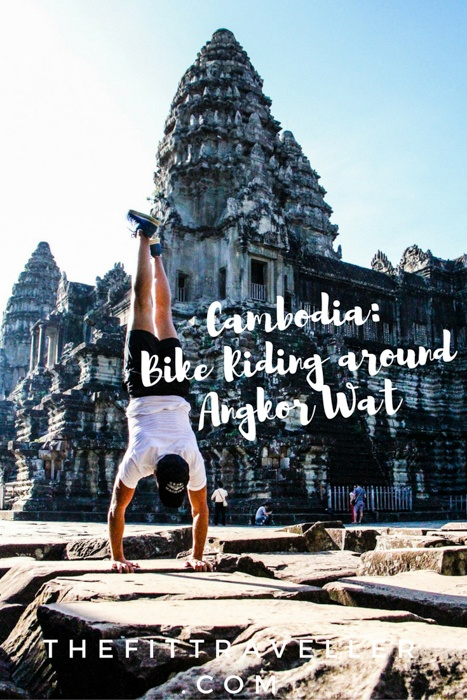 Angkor Wat by Bicycle | Sunrise cycling tour of Angkor Wat | Cycling Angkor Wat | Angkor Wat Tour Guide | Visiting Angkor Wat | Angkor Temple | Angkor Wat Cycling Tour | Angkor Wat Bike Tour | What to see in Siemp Reap | Temples Siem Reap | What to do in Siem Reap | Sunrise at Angkor Wat | #activetravel #siemreap #cambodia #grasshopperadventures #wellnesstravel #angkorwat #travelphotography