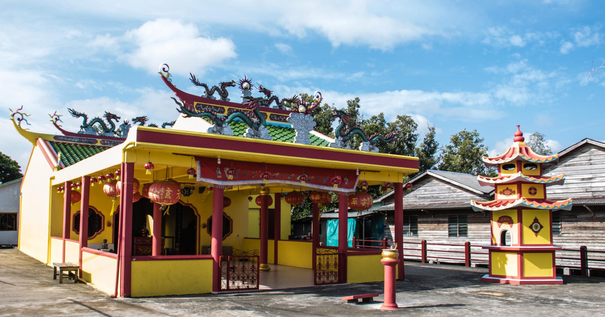 Taoist church Senggarang Village