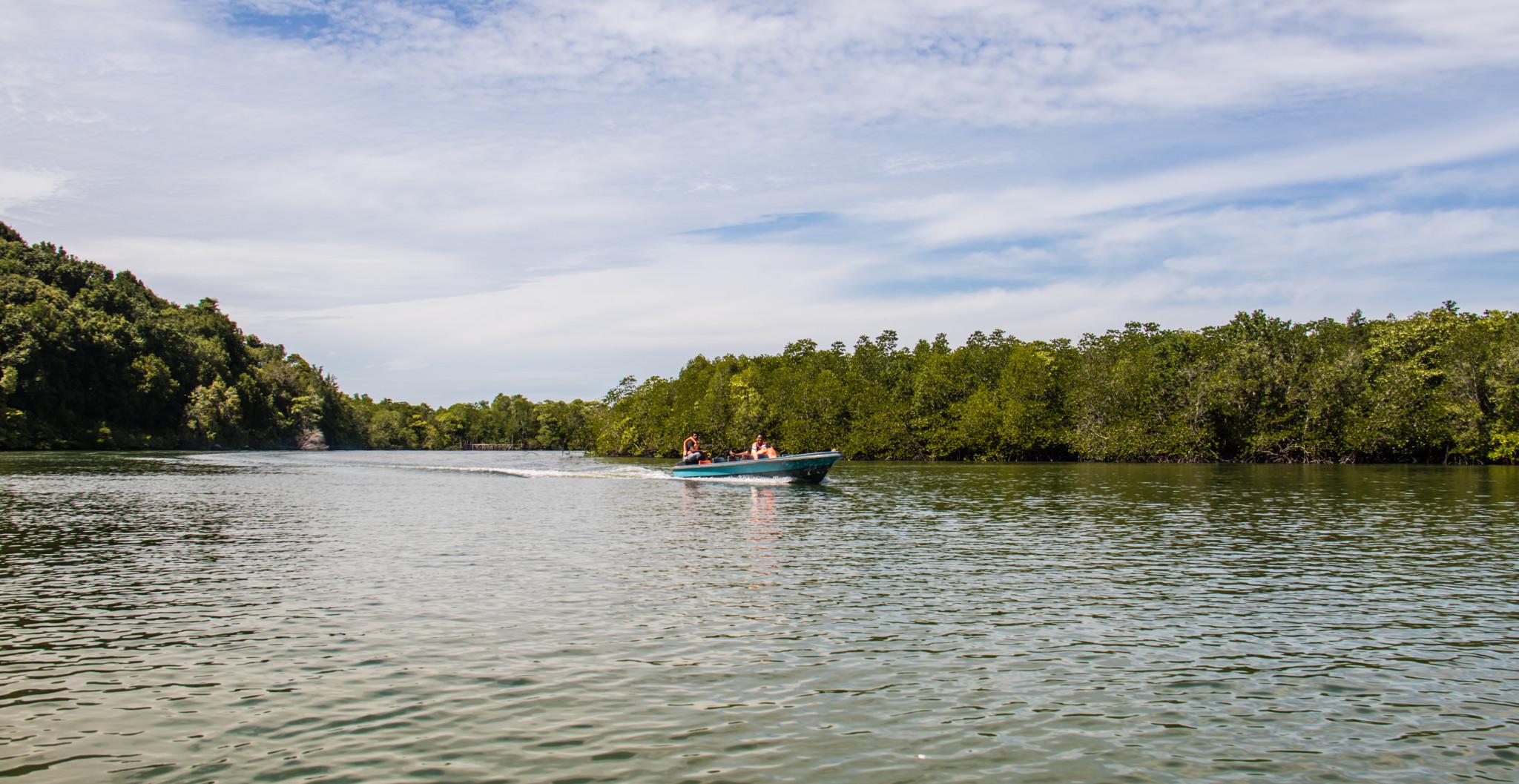 Sebung River Bintan Island