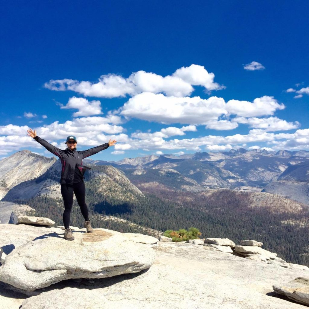 Climbing Half Dome in Yosemite National Park taught Gabrielle Boyle some very important life lessons. Image © Gabrielle Boyle