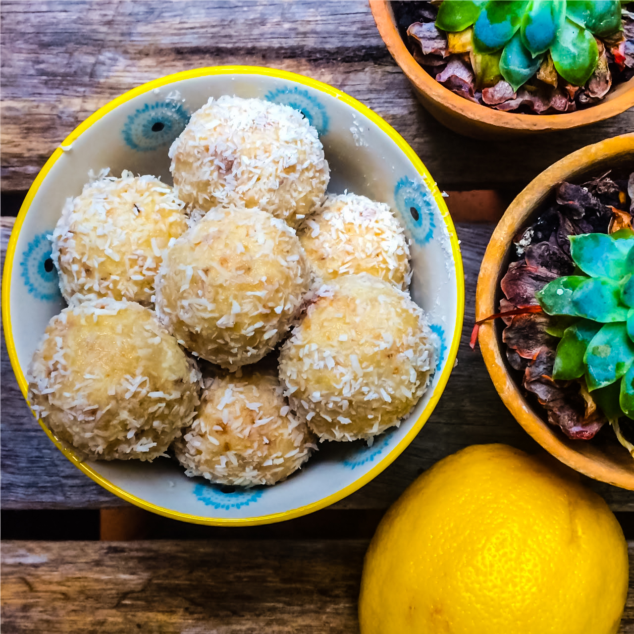 Jordanna Levin's divine bliss balls were a hit at Lunar Nights at the Bondi Yoga House. Image © Jordanna Levin