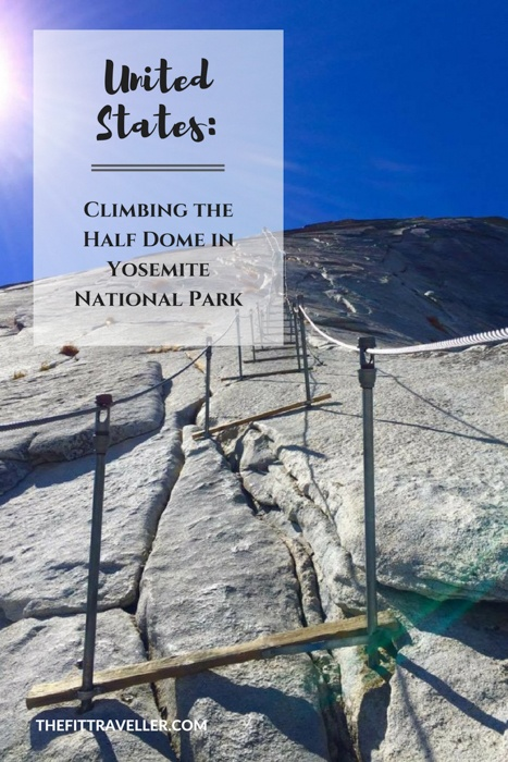 Climbing the Half Dome in the Yosemite National Park, USA was one of the toughest adventure travel challenges of Gabby's life. She shares her very personal journey with us.