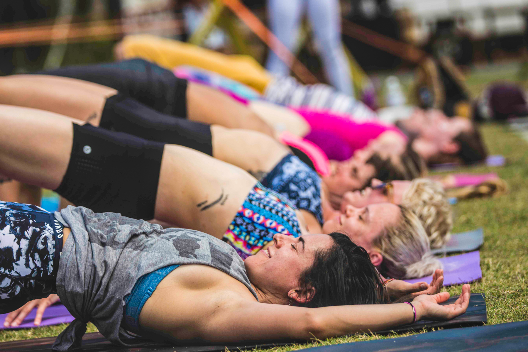 Wanderlust Festivals offer a blissful assault for the senses - body, mind and soul connected. Image © Tom Martin Media