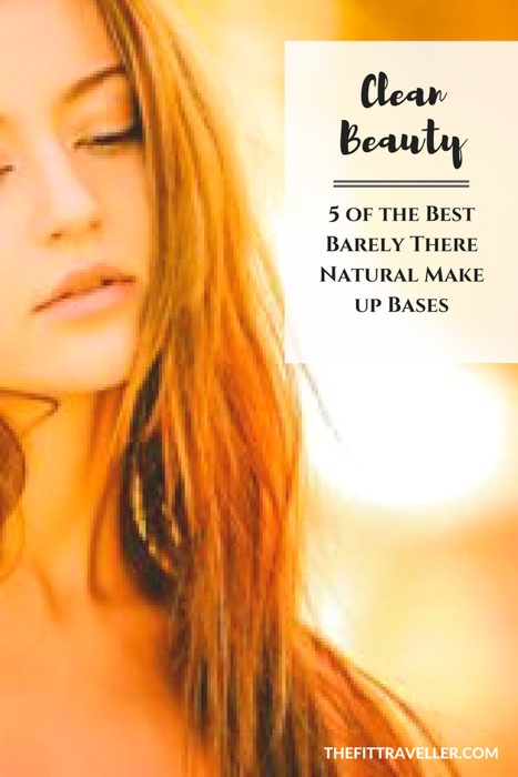 Clean Beauty: 5 of the Best Barely There Natural Make up Bases. Bad skin day? Caking on the foundation isn't the answer. Natural make up bases are, so we've got 5 of the best clean beauty buys we love.