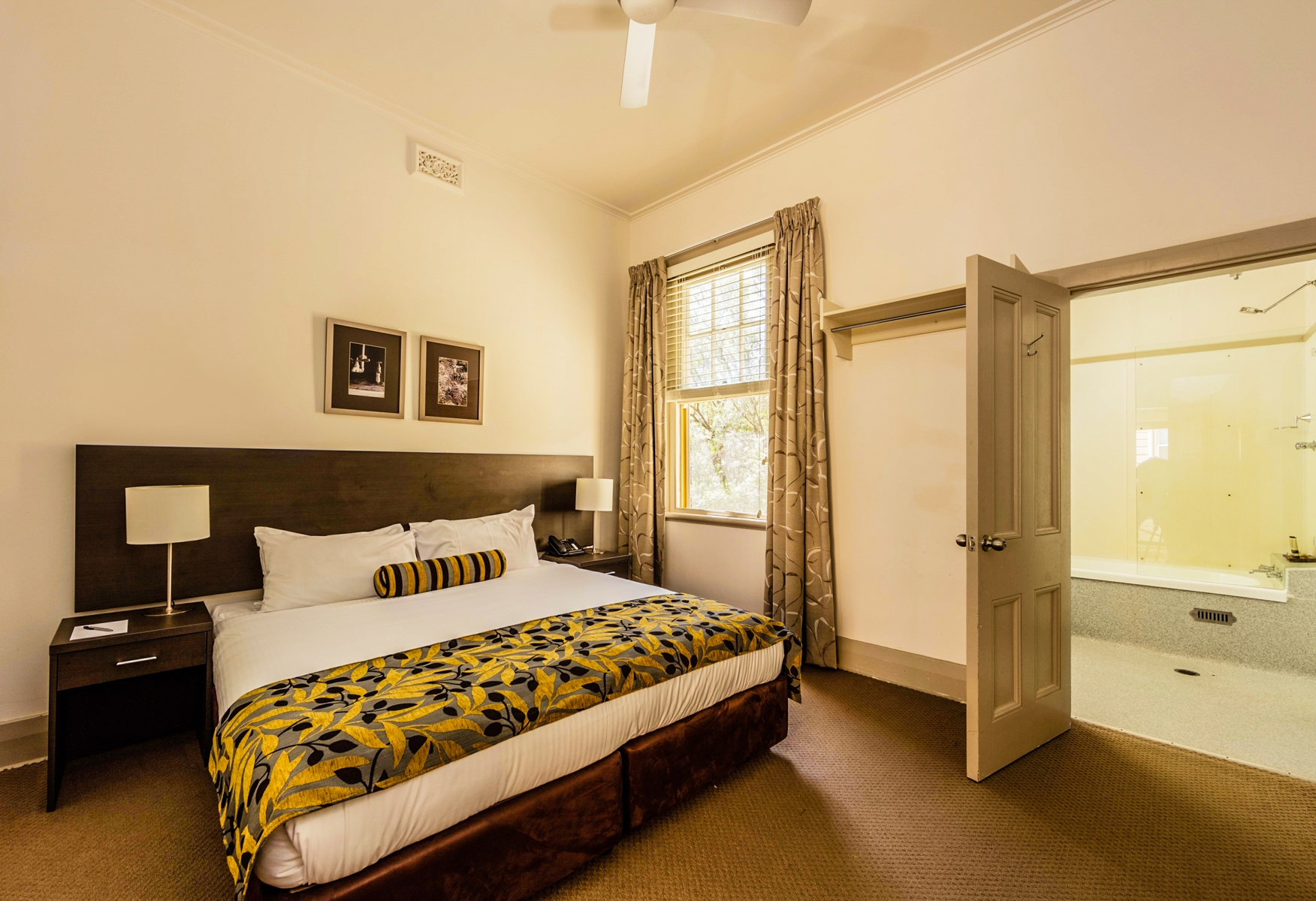 Q Station Manly offers comfortable and cosy rooms for a staycation, vacation or overnight stay. Image © Q Station Manly