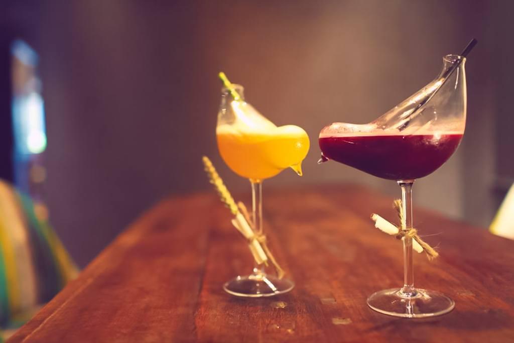 Hong Kong's Best Bars. Colourful cocktail creations at The Envoy Hong Kong. Image © The Envoy