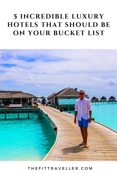 Bucket List Hotels | Hotel Bucket List | Hotels Bucket List | Luxury Hotels | Maldives Hotels | Mykonos Hotels | Dolomites Hotels | Best Luxury Hotels | Best Hotels in the world | #luxuryhotels #bucketlist #luxurytravel