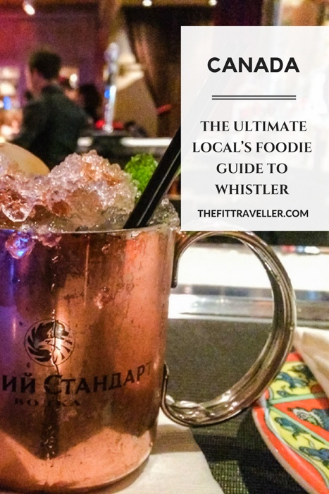 The Ultimate Local's Foodie Guide to Whistler. Visitors are spoilt for choice when deciding which of the Whistler bars to go to for apres. This Whistler dining guide also features where to eat in Whistler from the best fine dining restaurants to cafes and the best breakfast in whistler village. | Whistler Canada | Whistler Canada Winter | Whistler Food | #whistler #canada via @thefittraveller