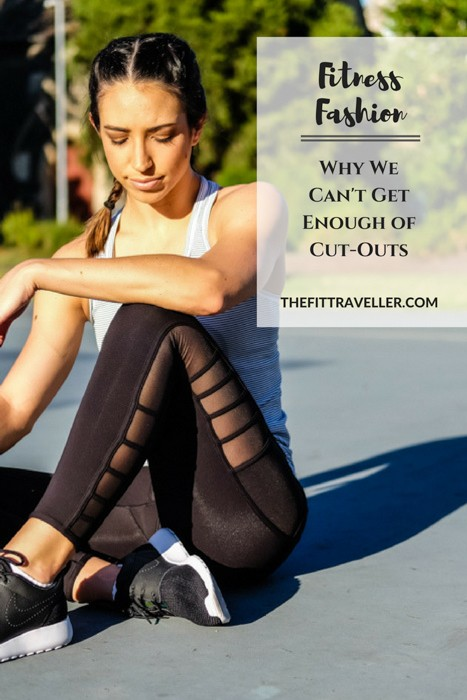 Fitness Fashion: We can't get enough of the mesh and cut-out trend. Simple activewear detailing that lifts your look from studio to the street.