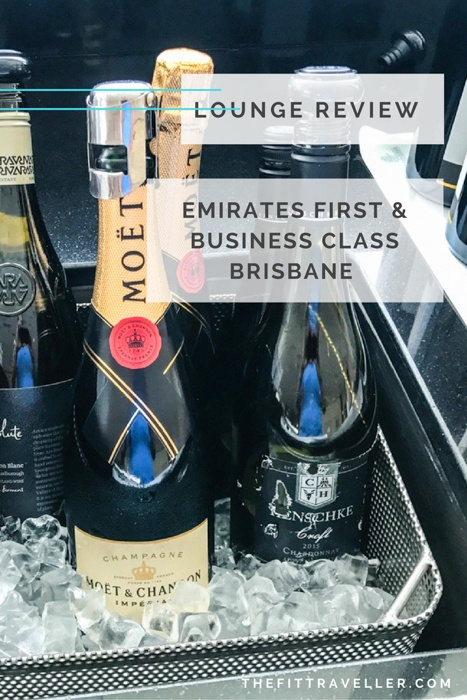 Lounge Review: Emirates First & Business Class. Brisbane International Airport.