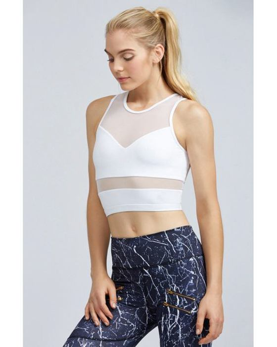 Mesh Activewear Fashion Trend - The Fit Traveller