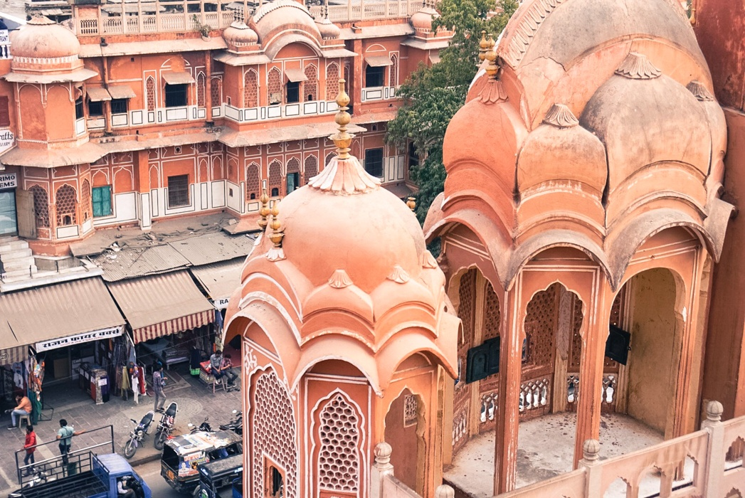 Pink washed Jaipur. 27 Incredible Photos That Will Inspire You to Travel to India