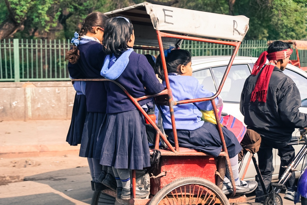 Tuk tuk riding in India - Best photos to inspire travel to India
