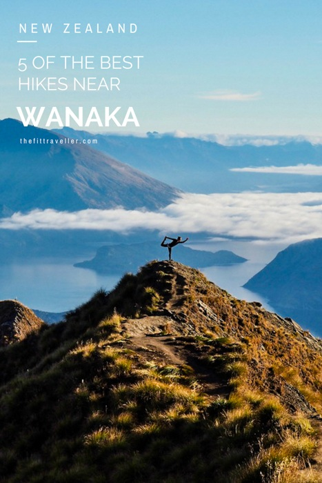 Five of the Best Wanaka hikes. Hikes near Wanaka and Wanaka walks that should make your bucket list. Whether you are on a south island road trip, travelling from Queenstown to Wanaka for the day and doing one of the Wanaka day hikes, these five hikes in Wanaka should be on your list. From Roy's Peak track to Breast Hill, we show you why these hikes in Wanaka are some of the best hikes in New Zealand and what you need to know before you go. #wanaka #newzealand #hiking @thefittraveller
