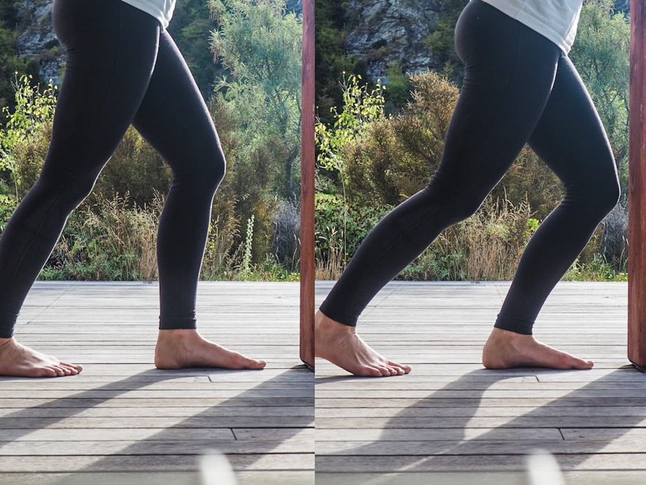 How to stretch your feet after running