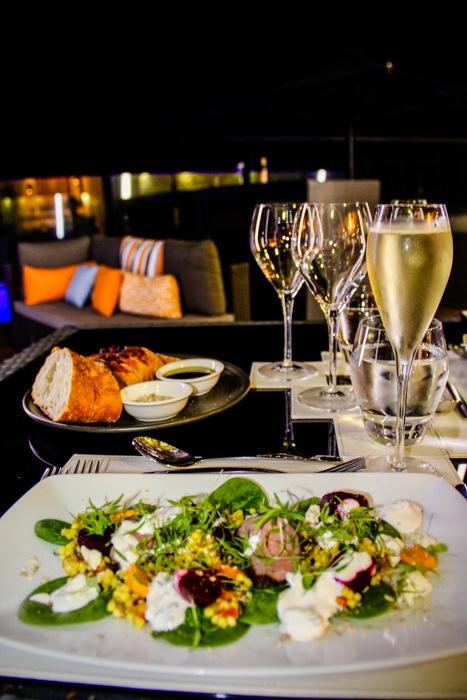 Fine dining at Cicada Lodge, Katherine Gorge