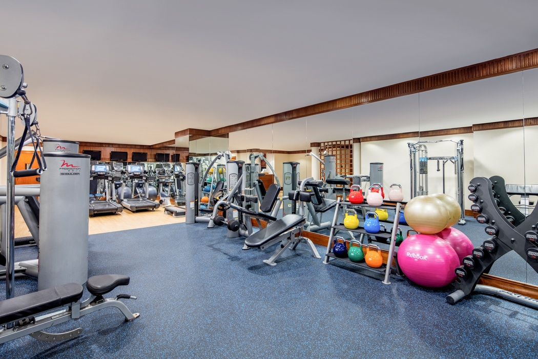 Best hotel gyms in Singapore