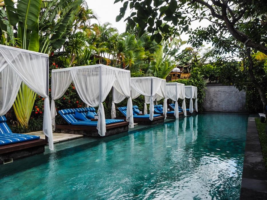 Best resort pools in Bali