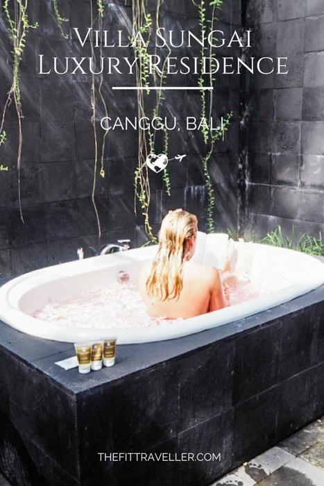 Villa Sungai, Luxury Residence Near Canggu, Bali. ***** Where to Stay in Bali | Canggu Villas | Bali Villas | 5 Star Villas Bali | Family Villa Bali | Bali Vacations | Where to Stay in Canggu Bali | Bali Accommodation | Villa in Bali |